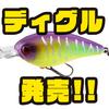 【ジャッカル】飛ぶクランクベイト「ディグル」発売!