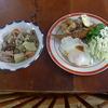 幸運な病のレシピ( 380 )朝:煮しめ、鳥唐揚げ、シシャモフライ、芋天