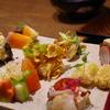 初めての手織り寿司。女性に大人気の京都にあるAWOMBでディナーを食べてきました。