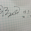 脇司先生からサインをいただいた。