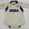 ユニフォーム その217 アーセナル 2001-2002シーズン アウェイ用 半袖 ベルカンプ