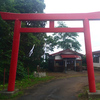 鷲ノ木稲荷神社と旧幕府軍上陸地