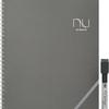 ノートサイズの書いたり、消したりできるホワイトボード nu board (ヌーボード) A4判 NGA403FN08