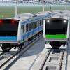 【TF2】TF2なら山手線カラーのE233系も使える!(『Transport Fever 2』E233系MOD紹介)