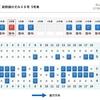 1人で新幹線指定席を予約する時はA席orE席?隣が空席or相席?