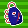 [ま]ワールドカップはこのアプリで応援!「みんなで応援カシローラ」/iPhoneを振るとカシローラの音が出るんです @kun_maa