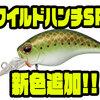 【EVERGREEN】清水盛三プロ監修のシャロークランク「ワイルドハンチSR」に新色追加!