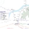 岐阜市内線の路線図