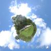 万座牛池  木の遊歩道 をTHETAで撮影 #360pic