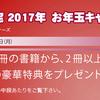 期間限定2017年お年玉キャンペーン開催中