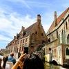 屋根のない美術館ブルージュを運河クルーズ