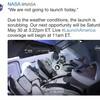 """スペースXちゃん延期される """"We are not going to launch today."""" @NASA"""