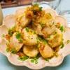 【レシピ】レンジで時短!里芋の塩バター揚げ焼き!
