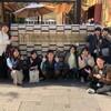 卒業生も混ざってアートなゼミ旅行 in 京都(11/10)~右脳ペインティングと京都国際マンガミュージアム~
