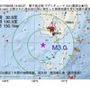 2017年09月08日 14時50分 種子島近海でM3.0の地震