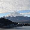 今日の一枚(97) 河口湖からの富士