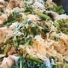 鶏肉と切り干し、芹の煮物