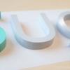 【製作事例】カルプ文字を製作しました!2色使いでかわいく仕上がりました〜