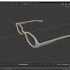 Blender 2.8でモデリングする その10(レンズ部分の作成)