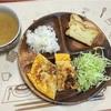 野菜オムレツとオニオンスープ