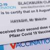 オーストラリアでファイザーの2回目の抗体接種受けました