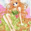 「緑の天使」オリジナルアナログイラスト:気分上げていきましょう!!と言いつつまた愚痴