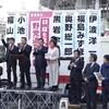 「桜を見る会」野党追及本部街頭宣伝