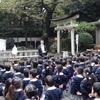 さきとり幼稚園の七五三詣でが執り行われました