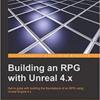 「Unreal Engine4.xを使用してRPGを作成する」の足りない部分を作成する。Main Menu作成