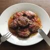 ドラゴン妻も喜ぶ「ゴーヤの肉詰めトマト煮」