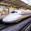 新幹線で見かけた光景