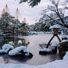金沢市兼六園雪景色
