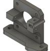 Fusion360で、Flsun Cubeの押出機(エクストルーダー)の本体をモデリングする