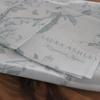 《買ったもの》ローラアシュレイの柄が素敵。手ぬぐいを買いました