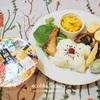 置き弁風ランチプレート/My Homemade Lunch Plate