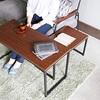 マンションでもミニ書斎が作れる! ネストテーブルを用いて部屋の隅っこを活用!