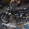#バイク屋の日常 #ヤマハ #TW225 #洗車 #納車準備