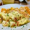 【レシピ】じゃがいもとウインナーのチーズ棒餃子