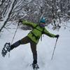 スノーシュートレッキング行ってきた。