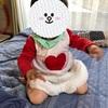 【ハンドメイド】手作りのディズニー白ウサギに変身してお散歩(^-^)
