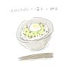 キャベツ納豆丼