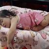 末っ子ベビー、爆睡中 baby takes a nap