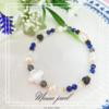 新作【mama jewel】魔よけの石 ラピスラズリ、オニキスを使った天然石ブレスレット