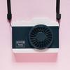 見た目だけじゃない 機能美備えたカメラ型 ハンズフリー扇風機 RHFC-BK