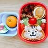 リスさんキャラ弁~冷凍食品を使わず可愛い幼稚園弁当~