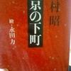 3/3「戦前の面影をたずねて - 吉村昭」文春文庫 東京の下町 から