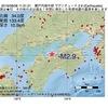 2016年08月08日 11時31分 瀬戸内海中部でM2.9の地震