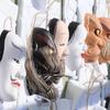 釣石神社─被災神楽面復活の舞(石巻市北上町)