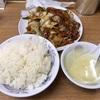 中区錦町マリンハイツの「百鶴楼」で回鍋肉定食・大辛