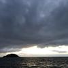 海へ沈む夕陽を見に行こう『土屋海岸』から望む亀島→『夏泊半島・大島』